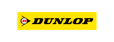 The logo for Dunlop