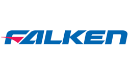 The Falken logo in blue