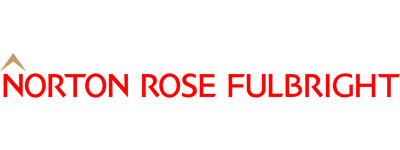 The Norton Rose Fulbright logo, with red text and a brown roof over the 'N'